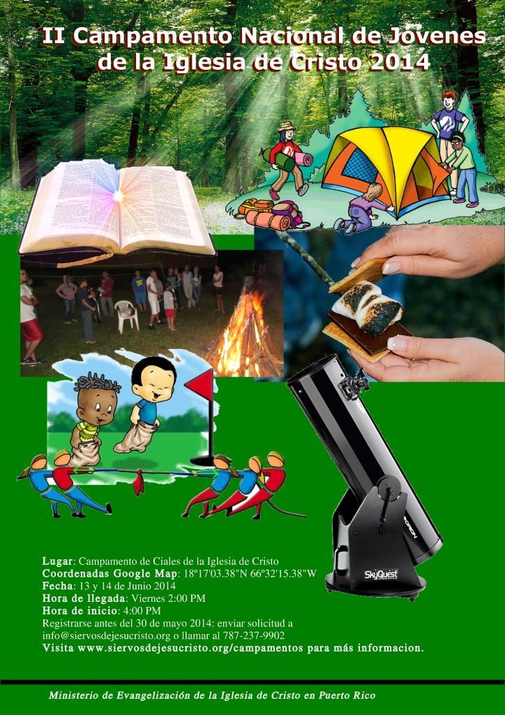 Campamento Ciales 2014 Iglesia de Cristo