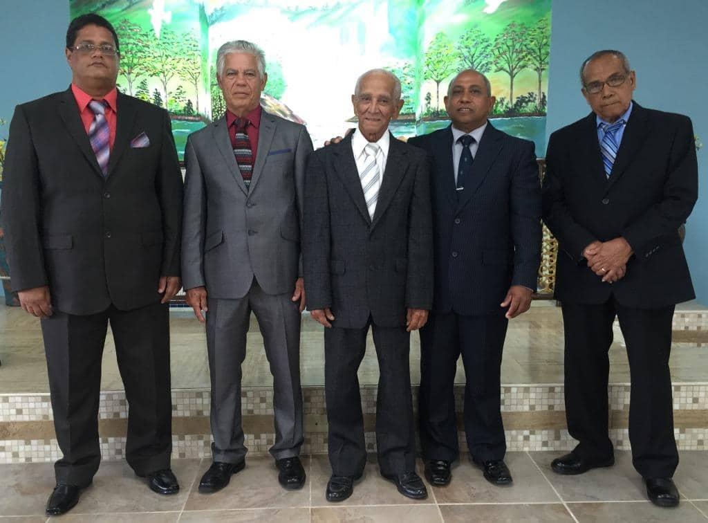 Ancianos y Diáconos de la Iglesia de Cristo en Gurabo