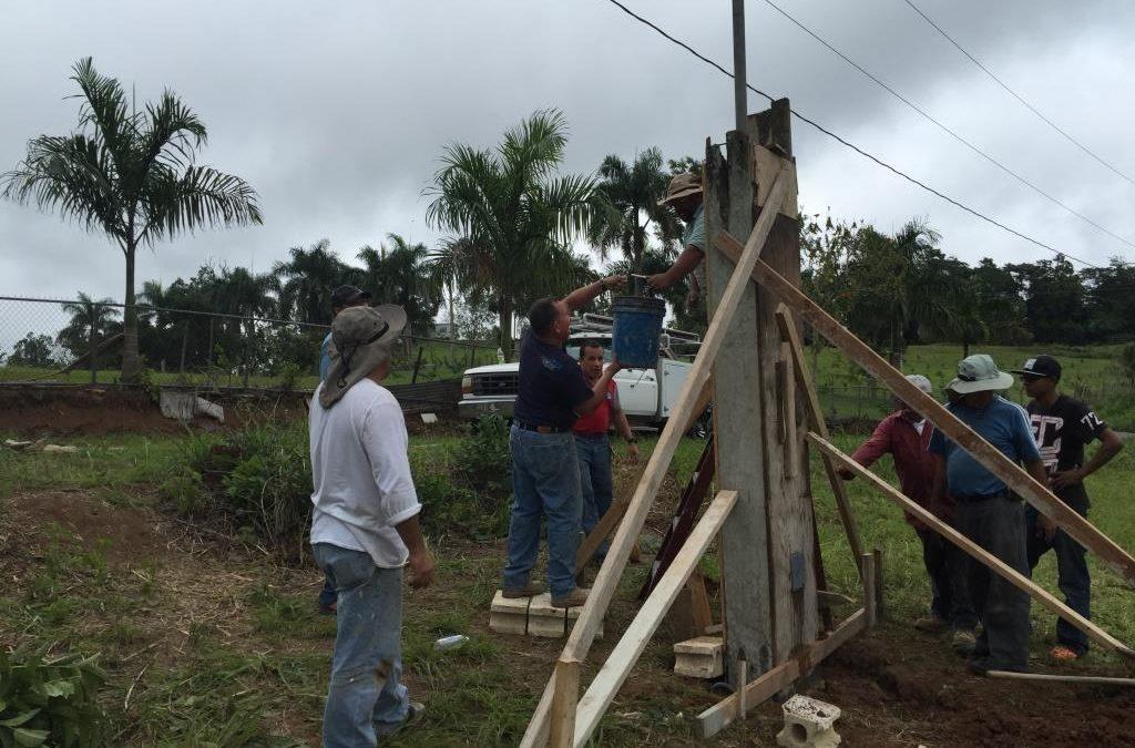 Construcción base contador eléctrico Enero 17 2015