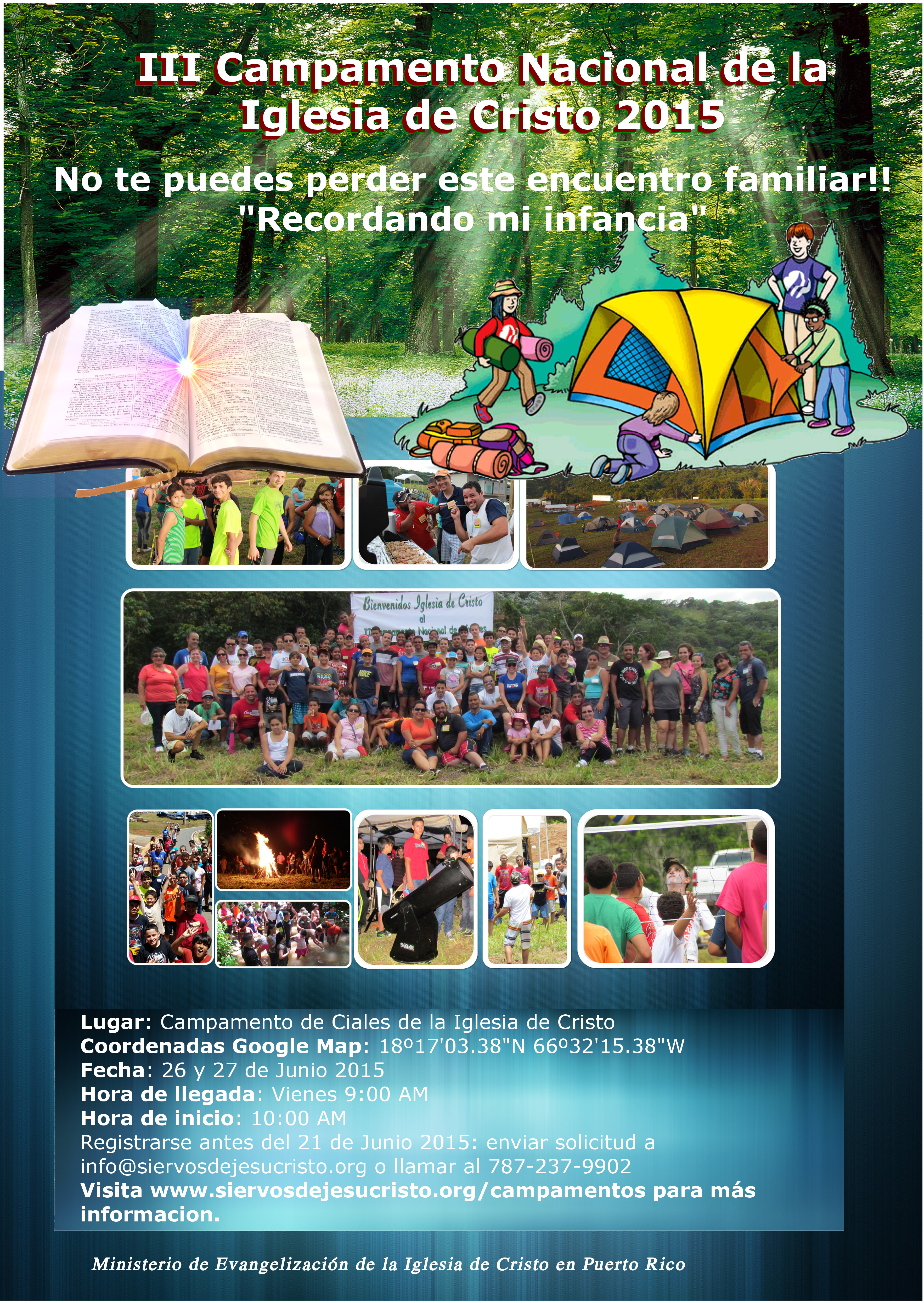 III Campamento Ciales 2015